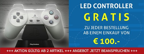 Offizielles Playstation Controller LED Light GRATIS