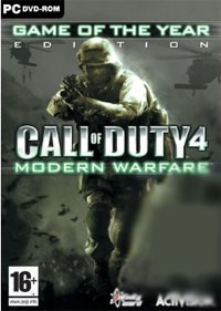 Call of Duty 4 GAME of the YEAR Modern Warfare [uncut Edition]