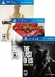 5 Games uncut Pack - God of war - Last of US - Uncharted 1,2,3 Collection (PS4)