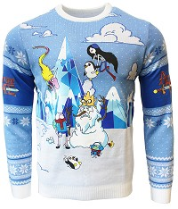 Adventure Time Festive Winter Xmas Pullover (L) (Merchandise)