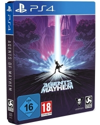 Agents of Mayhem [Steelbook uncut Edition] feat. Johnny Gat + 9 DLCs (PS4)
