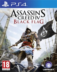 Assassins Creed 4: Black Flag [EU uncut Edition] - Cover beschädigt (PS4)