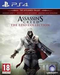 Assassins Creed Ezio Collection [EU uncut Edition] - Cover beschädigt (PS4)