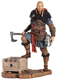 Assassins Creed Valhalla - Eivor Wolfsmal Figur (25 cm) inkl. Bonus DLC (Merchandise)