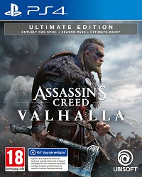Assassins Creed Valhalla [Ultimate AT uncut Edition] - Cover beschädigt (PS4)