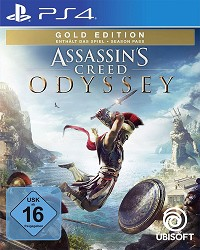 Assassins Creed: Odyssey [Gold uncut Edition] inkl. Bonus (PS4)