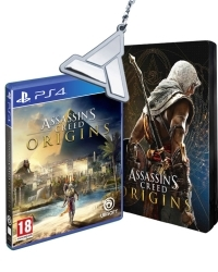 Assassins Creed: Origins [Special uncut Edition]  inkl. Bonusmission + Schlüsselanhänger (PS4)