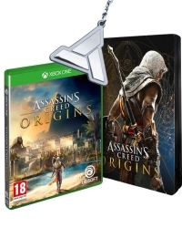 Assassins Creed: Origins [Special uncut Edition]  inkl. Bonusmission + Schlüsselanhänger (Xbox One)