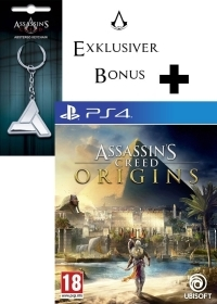 Assassins Creed: Origins [EU uncut Edition] + Schlüsselanhänger (PS4)