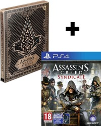 Assassins Creed: Syndicate [Special Steelbook uncut Edition] inkl. Bonus DLC (PS4)