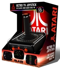 Atari TV Plug n Play AV Joystick   Atari 50 Games Pack (Gaming Zubehör)