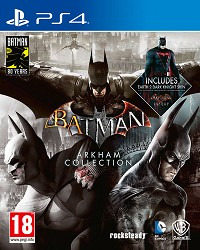 Batman Arkham Collection [Steelbook Edition] (PS4)