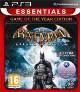 Batman: Arkham Asylum Game Of The Year [uncut Edition] + 4 Bonus Maps (PS3)