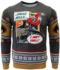 Batman I Dont Smell Xmas Pullover (M) (Merchandise)