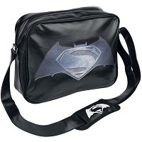Batman vs Superman Logo Messenger Tasche (Merchandise)