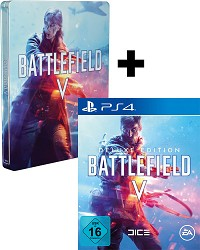 Battlefield 5 [Limited DELUXE Steelbook uncut Edition] + 3 Boni (PS4)