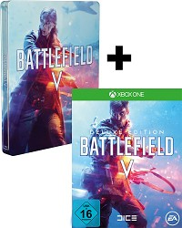 Battlefield 5 [Limited DELUXE Steelbook uncut Edition] + 3 Boni (Xbox One)