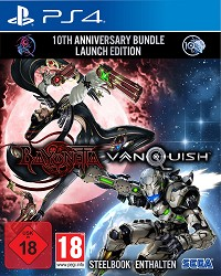 Bayonetta + Vanquish 10th Anniversary Bundle [Limited Steelbook uncut Edition] (PS4)