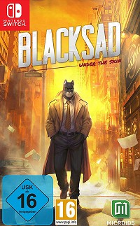 Blacksad: Under the Skin [Limited uncut Edition] (Nintendo Switch)