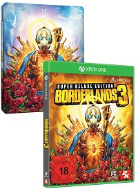 Borderlands 3 [Super Deluxe Steelbook uncut Edition] inkl. Preorder DLC (Xbox One)