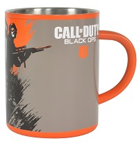 Call of Duty Black Ops Steel Tasse (Merchandise)
