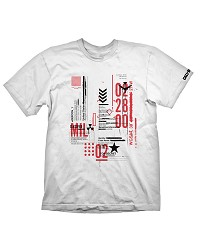 Call of Duty: Black Ops Cold War T-Shirt Defcon-1 White (L) (Merchandise)