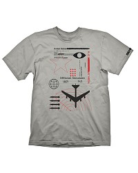 Call of Duty: Black Ops Cold War T-Shirt Radar Light Grey (L) (Merchandise)