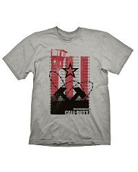 Call of Duty: Black Ops Cold War T-Shirt Wall Light Grey (L) (Merchandise)