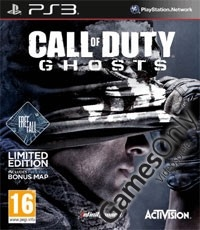 Call of Duty: Ghosts [Limited UK D1 Bonus Edition] inkl. Free Fall DLC (PS3)