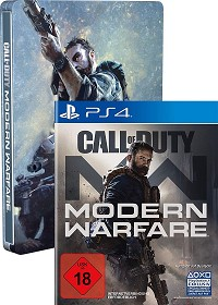 Call of Duty: Modern Warfare [Limited Steelbook uncut Edition] (exklusiv) (PS4)