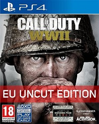 Call of Duty: WWII [Division Bonus uncut Edition] - Cover beschädigt (PS4)