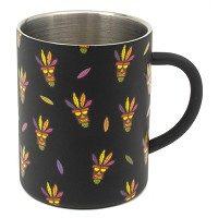 Crash Bandicoot Aku Aku Steel Tasse (Merchandise)