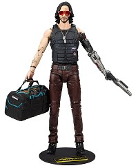Cyberpunk 2077 Actionfigur Johnny Silverhand Exclusive Variant (18 cm) (Merchandise)