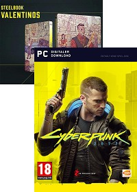 Cyberpunk 2077 [Bonus uncut Edition] + Steelbook (PC)