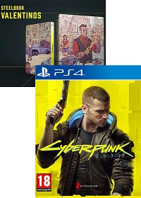 Cyberpunk 2077 [Bonus uncut Edition] + Steelbook (PS4)