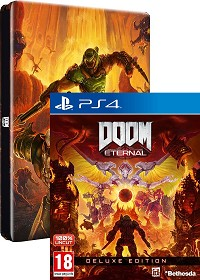 DOOM Eternal [DELUXE Steelbook Bonus uncut Edition] (PS4)
