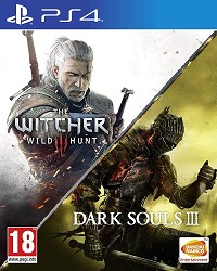The Witcher 3 Wild Hunt + Dark Souls III &  Compilation [uncut Edition] (PS4)