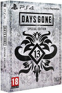 Days Gone [Limited Special Steelbook uncut ] inkl. Bonus DLC Pack - Early Delivery Edition (PS4)