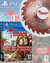 Dead Island [Definitive AT uncut 2 Blu Ray Disc Collection] + 4 Boni inkl. Neopren! Frisbee (PS4)