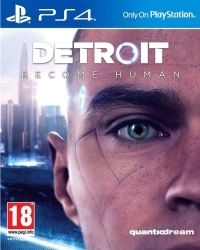 Detroit: Become Human [Bonus AT uncut Edition] - Erstauflage - Cover beschädigt (PS4)