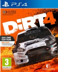 DiRT 4 [Day 1 Bonus AT Edition] + 3 Bonus DLCs + lim. Lanyard Schlüsselband (PS4)