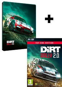 DiRT Rally 2.0 [Day One STEELBOOK Edition] inkl. Bonus (PC)