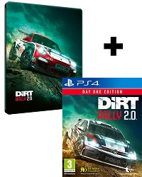 DiRT Rally 2.0 [Day One STEELBOOK Edition] inkl. Bonus (PS4)