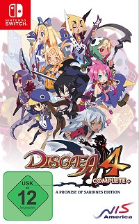 Disgaea 4 Complete+ [A Promise of Sardines Edition] (Nintendo Switch)