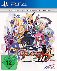 Disgaea 4 Complete+ [A Promise of Sardines Edition] (PS4)