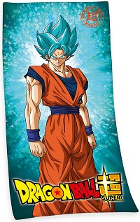 Dragon Ball Super Saiyajin Son Goku Handtuch (150 x 75 cm) (Merchandise)