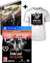 Dying Light Teil 1 + The Following [Enhanced AT D1 Bonus Steelbook uncut Edition] + T-Shirt (L) + Kettensäge (PS4)