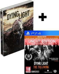 Dying Light Teil 1 + The Following [Enhanced AT uncut Edition] + Steelbook (PS4)