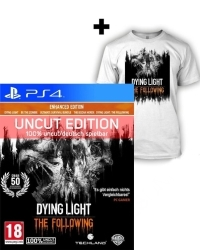 Dying Light Teil 1 + The Following [Enhanced AT uncut Edition] + T-Shirt (L) + Kettensäge (PS4)