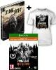 Dying Light Teil 1 + The Following [Enhanced AT D1 Bonus Steelbook uncut Edition] + T-Shirt (L) + Kettensäge (Xbox One)